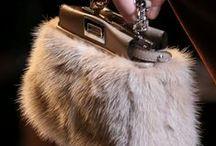 Fur bag - Szőrme táska / Szőrméből sok ötletes táska fazonok, bőrrel - anyaggal kombinálva                                -                                               Fur many ingenious bag styles, skin - in combination with