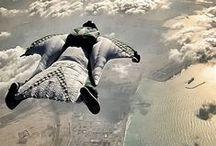 Parachut - Ejtőernyő / Levegőben