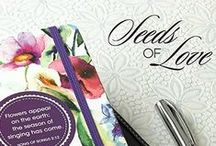 "Seeds of Love Collection / ""Seeds of Love"" is a fresh floral range that expresses the love of God through inspiring Scripture and feminine designs."