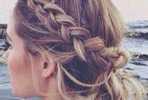HAIR. / Ihania hiustyylejä, kampauksia ja lettejä.