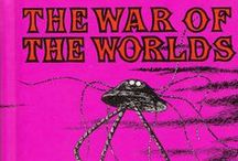 """The War of The Worlds / Activities, videos, and facts about Mars, all relating to """"The War of the Worlds"""" by H. G. Wells.  / by NIU STEAM Works"""