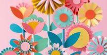 DIY Projekte mit Papier / Papierliebe, paperlove, Papier Deko, Inspiration, Dekoideen, selbermachen, Papier Blumen, Geschenke, Karten, Notizbücher, Technik, Vorlagen, Pflanzen, basteln, kleben