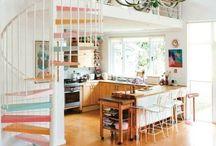 Interior - Loft / Einrichtungs Ideen und Deko für große helle Räume im Loft Stil