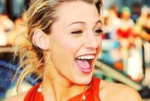 Blake Lively / I love her smile. delightful.