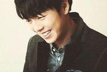 he is so cute; hyun woo lee