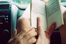 \reading / There are worse crimes than burning books. One of them is not reading them. Ray Bradbury  / by Melissa