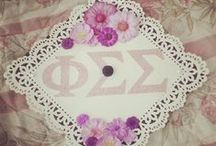 phi sigma sigma / by Michelle Bedolla