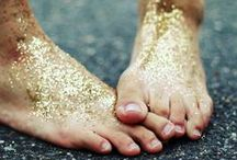 wash the glitter from your skin