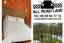 Baroud'land à l'hôtel Les 2 Rives / Sortie de voitures anciennes en Lozère avec une halte à La Canourgue à L'Hôtel les 2 Rives. #tourisme voiture en lozère. #sport automobile #hotelles2rives