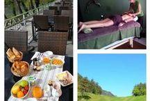 Séjour Lozère Golf et détente hôtel les 2 rives / En couple profitez ensemble du Green des Gorges du Tarn puis après cette journée faites vous masser, chouchouter et enfermez-vous dans une bulle de tranquillité. Vous pouvez aussi profiter séparément des activités : Monsieur peut golfer sur 2 jours pendant que Madame  se relaxe avec Céline dans son SPA « dans ma bulle ». Ce séjour pacager de l'hôtel les 2 rives vous permet de profiter tout en vous relaxant. #golfgorgesdutarn #tourismedétentelozère #les2rives #golflozère