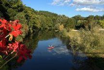 Canoe dans la Vallée du Lot