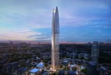 Tallest buildings and projects in the world / Mankind's obsession with tall buildings... / by Pierre Galeon