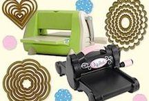 Crafts~Embossing & Die Cutting / Embossing/Die Cutting machines, folders & dies.  Tips, tools, ideas and tutorials / by Pauline Zinie