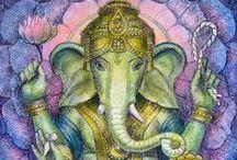Ganesha / elegant elephants