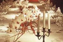 By me: Table decorations / Tisch- und Tafeldekorationen von Yvonne Reichmuth