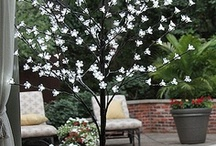 Light Up Outdoors / Great safe flameless outdoor lighting from lanterns to patio lights. / by Battery Operated Candles