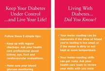 Diabetes / About eight percent of all Americans have diabetes, and the rate is increasing. Learn more about this prevalent and life-threatening disease, including common symptoms, how it affects your health, tips to manage it and prevent complications and ways to reduce your risk factors.