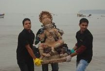 Beach Cleanup / For the second year in a row, we teamed up with SPROUTS Environment Trust to clean up Girgaum Chowpatty post Ganpati Visarjan.