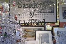 Christmas Advent Calender 2013  / Join Sanders of Oxford in our countdown to Christmas with our daily advent calender 2013