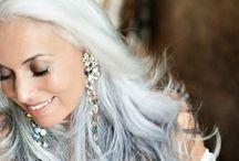 Great hair - gray hair