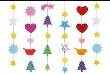 Advent + Weihnachten / Advents- und Weihnachtschmuck wurde im 19. Jahrhundert in den meisten Familien selbst hergestellt. Großmutters Bastelideen und Schnittmuster für den Papierschmuck sind heute wieder aktuell. Auch Kinder mögen diese Papierarbeiten, denn die Ergebnisse sind immer wieder eine  Überraschung.