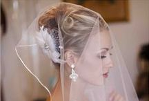 Wedding Hair / Whether you want effortless loose waves, or an intricate up do, you'll find inspiration for your #wedding hair here!