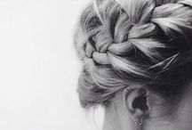 hair. / Hairstyles we love and wish we had time to do.