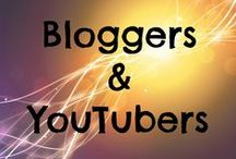 Bloggers and YouTubers / This board is designed to allow both bloggers and Youtubers to share recent blog posts, videos and ideas.
