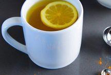 Le citron, curcuma, gingembre et autres épices et baies / Des produits naturels pour le bien être
