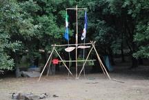 Attività scout / Pionieristica, illustrazioni trapper, ma non solo
