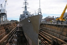 Shipyards: Asbestos and Mesothelioma / Photos of Shipyards in New England and throughout the USA
