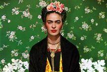 Artista - Frida Kahlo / by Manuela M