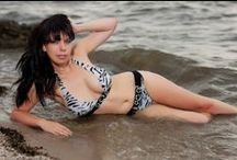 Ukrainian Women in Bikini's / Ukraine Girls love the Beaches and love to get wet. Should you visit the Ukraine in the Summer make it a point to stop by the local beaches to see all the beautiful Bikini clad girls there. Here are a few we spotted on the beach