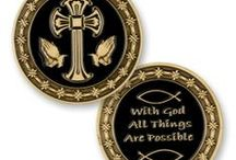 Inspirational Coins - Gifts/Religious / Custom coins with inspirational and religious themes. Makes great gifts!