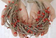 Linen jewelry / Biżuteria lniana