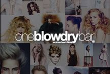 blow dry bar & blow out hair salon / oneblowdrybar® brand of blow dry-bar at Macy's Herald Square, Red Bank and Mizner Park #oneblowdrybar #blowdrybar #blowouts #mizerpark