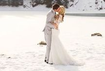 Hochzeit • Winterhochzeit / Inspirationen zum Heiraten im Winter.