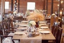 Hochzeit • Dekoration / Interessante Dekoideen für die Hochzeitsfeier.