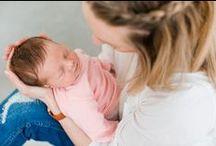 Shooting • Newborn & Baby / Newborn- und Babyfotografie im Reportagestil.
