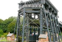 Anderton Boat Lift / The Anderton Boat Lift on the River Weaver and Trent & Mersey Canal is one of the Seven Wonders of the Waterways. If you're planning a trip on the UK's Inland Waterways, why not make it one of your destinations?