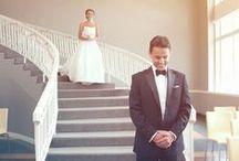 Hochzeit • First Look / Der Moment, wenn sich das Brautpaar zum ersten Mal sieht.