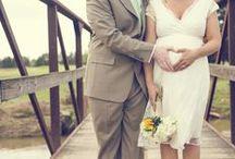 Hochzeit • Schwangere Braut / Für Bräute mit einem süßen Kugelbauch.