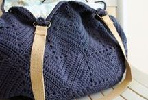 Crochet bags & baskets