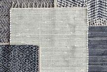 Tekstiilit / Ideoita kangaspuille ja neulontaan