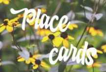 Place cards / Place cards