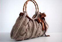 Kabelky, tašky a košíky / pletení a háčkování