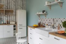 House | Home / New home ideas. Bright, fresh, colourful, fun
