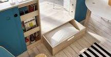 Livinginashoebox.com / A  blog about small space living and great design