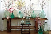 Decor on a budget / Easy, non costly ideas for a gal on a budget.