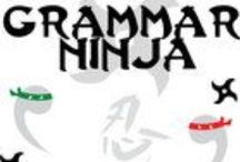 Grammar Ninjas / Who said grammar has to be boring?! Not the Grammar Ninjas!  They're here to slice and dice your boredom away and make grammar fun again for today's modern students. These instructive review lessons on Commas, Parts of Speech, and Subject / Verb Agreement are nun-chucked full of hilarious jokes that will keep the kids reading and learning. Grammar + Laughter = Awesomesauce!